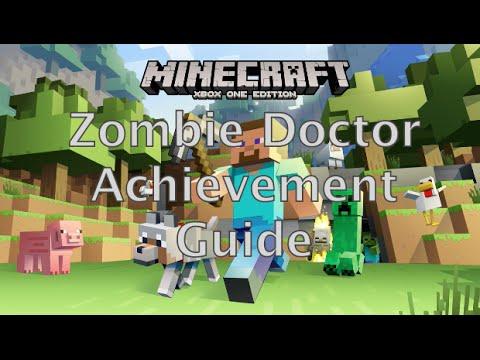 Minecraft: Zombie Doctor Achievement Guide (xbox one)