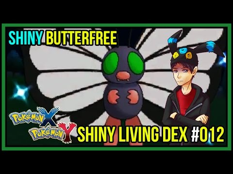 SHINY BUTTERFREE with Evilskyhawk & Jexxca | Shiny Living Dex #012 | Pokemon X and Y