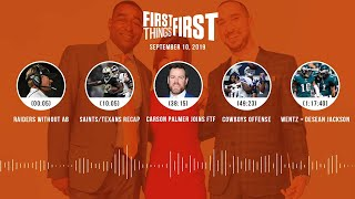 First Things First Audio podcast (9.10.19)Cris Carter, Nick Wright, Jenna Wolfe | FIRST THINGS FIRST