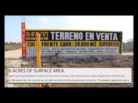 Merida Yucatan Mexico Lots/Land For Sale (Great Video)
