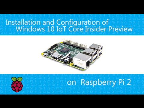 Building an IoT Device with Windows 10 IoT Core Insider Preview on Raspberry Pi 2 - Part1