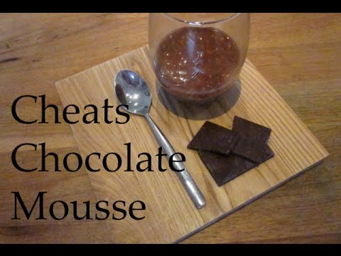 Cheats Chocolate Mousse