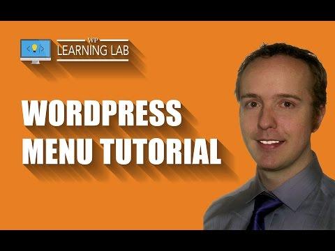 WordPress Menu Tutorial - How To Create & Integrate WordPress Menus | WP Learning Lab