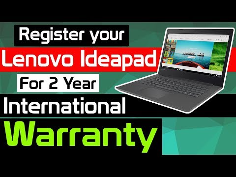 LIVE - How to register Lenovo Ideapad Laptop for International Warranty - LIVE
