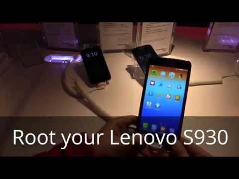 How to Root Lenovo S930