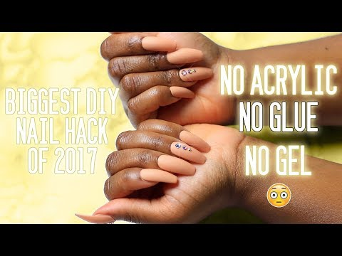 BIGGEST DIY Nail Hack that EVERYONE should know! It's CHEAP & it's LIT!