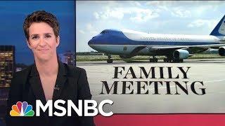 New Russia Contact Revelations In Donald Trump Jr. Senate Interview   Rachel Maddow   MSNBC