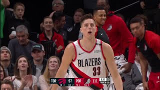4th Quarter, One Box Video: Portland Trail Blazers vs. Toronto Raptors