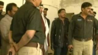 suhail Mohd Al Zarooni visit in landhi jail karachi