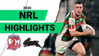 Roosters V Rabbitohs Round 3 2020 Match Highlights Telstra Premiership NRL