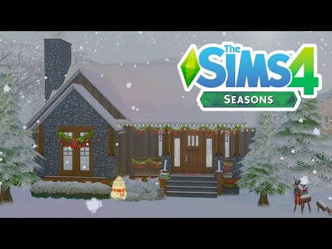 SEASONS WINTER WONDERLAND // The Sims 4: Speed Build