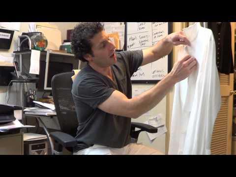 y2726 VTG Giorgio Armani Black Label Mens White Dress Shirt Sz. 38/18 *Very Clean*