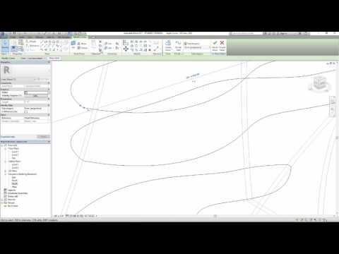 Complex Curved Walls in Revit