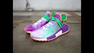 new product 55751 63e8a EARLY FIRST LOOK ADIDAS HUMAN RACE TRAIL HOLI CHALK CORAL ...
