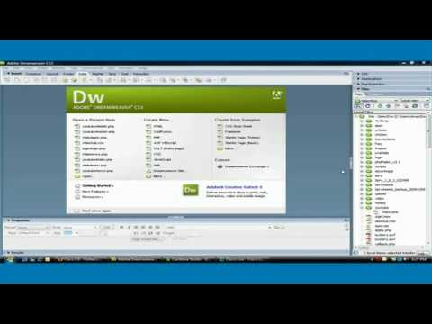 Dreamweaver CS3 - How to Create Master Detail Page Set in Easy Steps