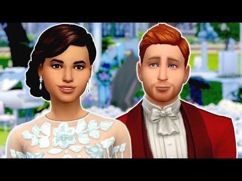 THE ROYAL WEDDING - Sims 4 Create A Sim | Prince Harry and Meghan