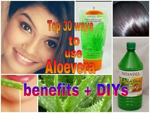 how to use patanjali aloevera gel or juice for skin/ hair/ bodyhealth/  ( DIYs/face mask)