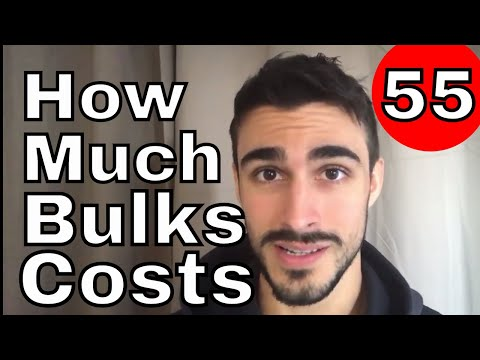 How Expensive is Bulking (October's Bill)