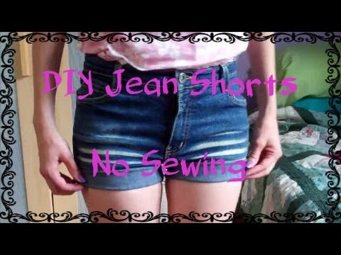 DIY Jeans to Shorts (Easy + No Sewing!)