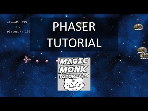 Javascript games programming using Phaser in Dreamweaver lesson 12 - Looped intro animation