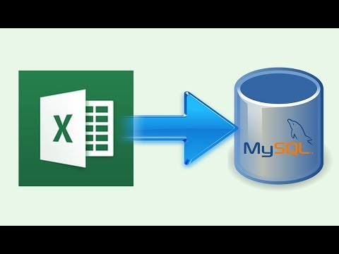how to import data from excel to mysql using php