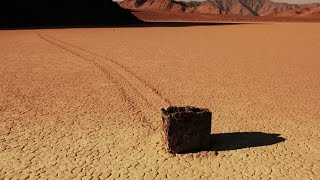 Wandering Rocks of Death Valley