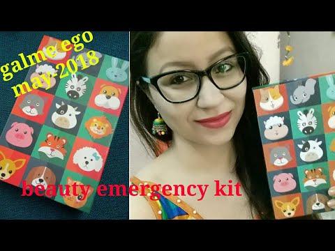 Emergency Beauty Kit - GLAMEGO May- 2018