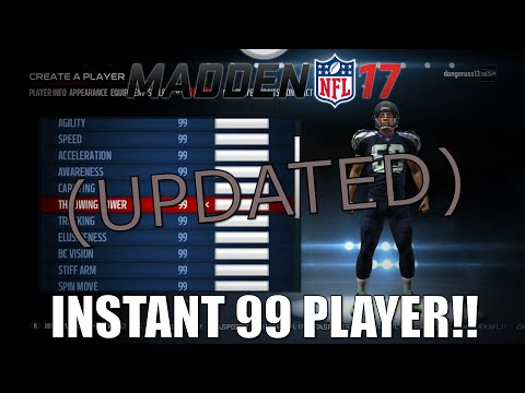 How To Get a Instant 99 Overall Player In Franchise - (Madden 17) - Updated