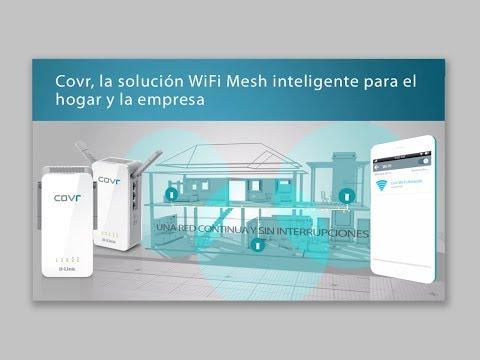 D Link Webinar: Covr, la solución WiFi Mesh inteligente con roaming y sin límites de cobertura