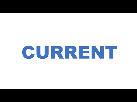 What is Current - Basic Electronics #2