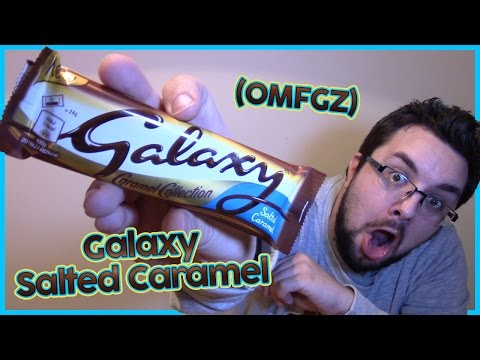Galaxy Salted Caramel Review (Caramel Collection)