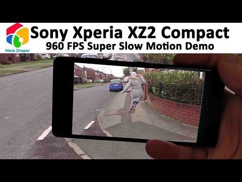 Sony Xperia XZ2 Compact Super Slow Mo Demomonstraions