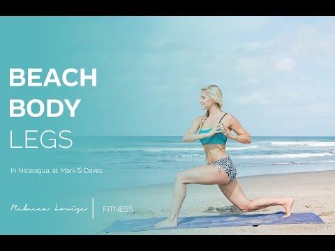 Beach Body Legs | Rebecca Louise