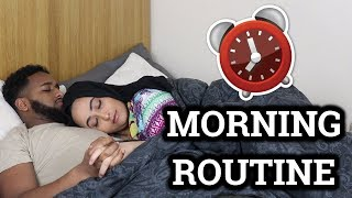 OUR MORNING ROUTINE!!! *COUPLES EDITION*
