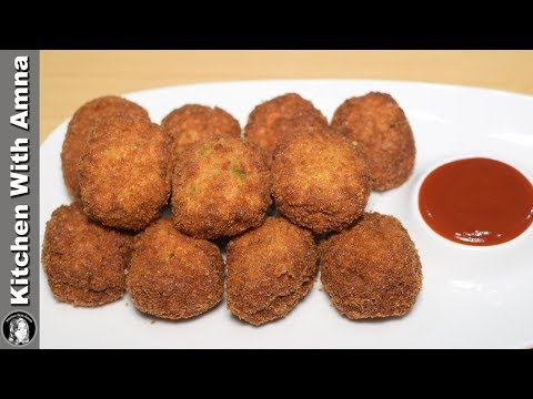 Homemade Chicken Nuggets Recipe - Special Ramadan Recipe - Kitchen With Amna