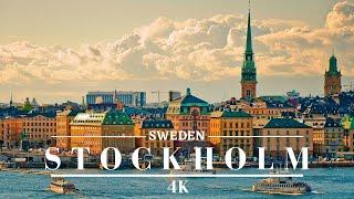 STOCKHOLM 4K, Sweden 4K The charming Viking's City-Cinematic drone Footage