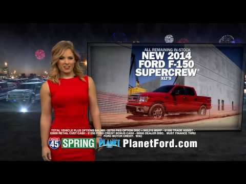Planet Ford Spring Ford's Summer Sales Event