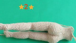Örgü Oyuncak Hilal Bebek Tarifi, Amigurumi tarifler | 180x320