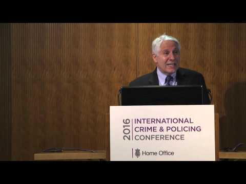 ICPC 2016:  Police ownership of science, Professor David Weisburd