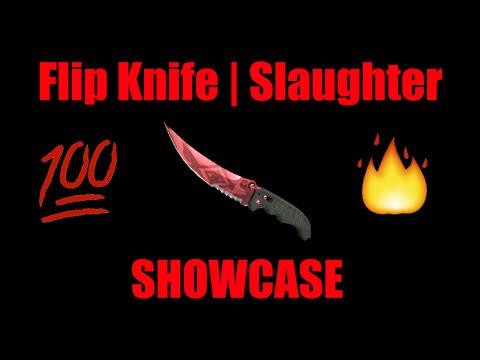 CS:GO ★ Flip Knife | Slaughter MW Showcase