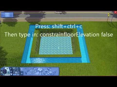 The sims 3 - Underwater House