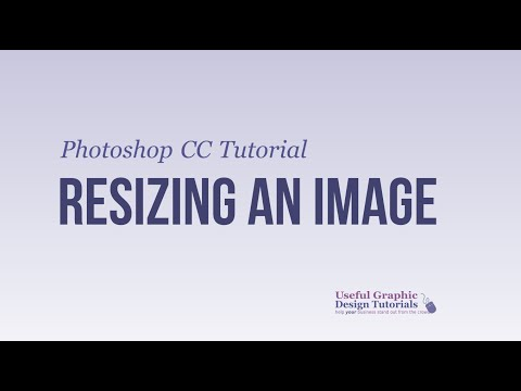 Resizing Images in Photoshop CC