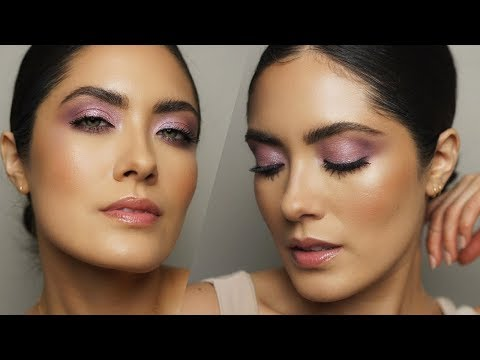 Lilac Spring Makeup | How to Pair Colorful Eyeshadow | Melissa Alatorre