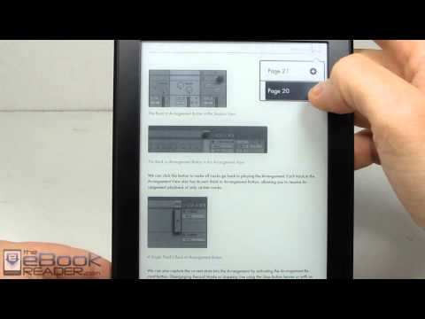 Kindle Paperwhite 3 PDF Review and Features Test