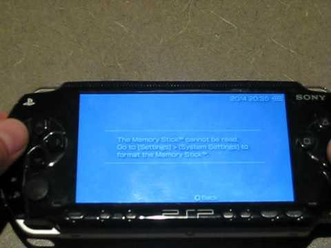 PSP - 2x32GB MicroSD in CR-5400.AVI