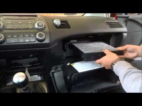 How To Replace Cabin Air Filter In A Honda Civic (8th Gen 2006-2011)
