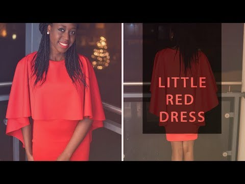 My Sewing Makes - #TheLittleRedDressProject Reveal • Elewa