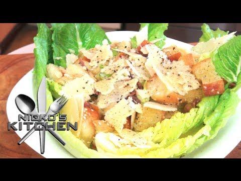 How to make Caesar Salad - Video Recipe