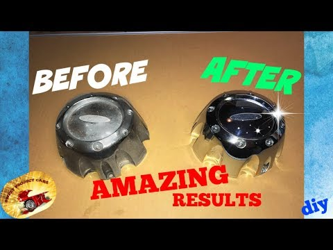 How To Clear Coat & Buff Plastic Chrome... AMAZING RESULTS!