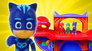 PJ Masks Toys Videos - PJ Masks Slime Trouble! Catboy, Owlette and Gekko Toys | PJ Masks Official